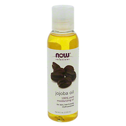 NOW Solutions 100% Pure Moisturizing Jojoba Oil,4 OZ