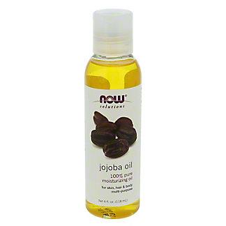 NOW Solutions 100% Pure Moisturizing Jojoba Oil,4 OZ