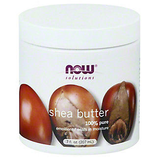 NOW Solutions Shea Butter Lotion,7 OZ