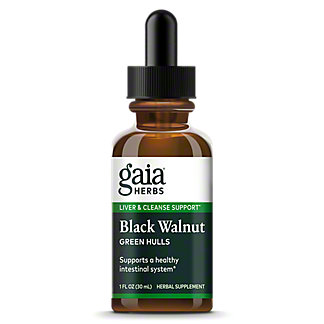 Gaia Herbs Black Walnut Fresh Green Hulls Extract, 1 oz