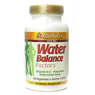 Michael's Water Balance Factors Tablets, 60 CT