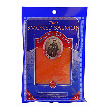 Spence & Co., Ltd. Smoked Atlantic Salmon, 4 OZ