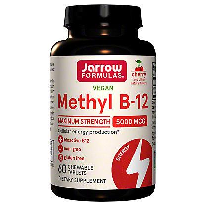 JARROW FORMULAS Jarrow Methyl B-12 500 Mg.,60 CT