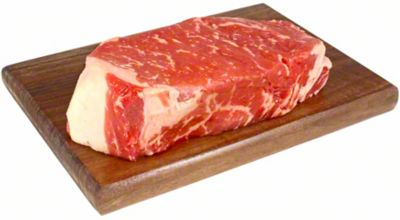 USDA Prime Natural Angus New York Striploin Steak, LB