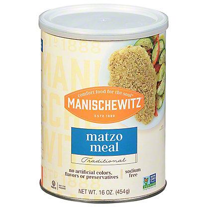 Manischewitz Unsalted Matzo Meal, 16 oz