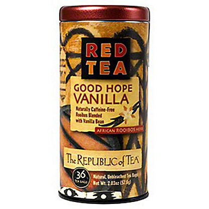 The Republic of Tea Good Hope Vanilla Red Tea Bags, 36 ct