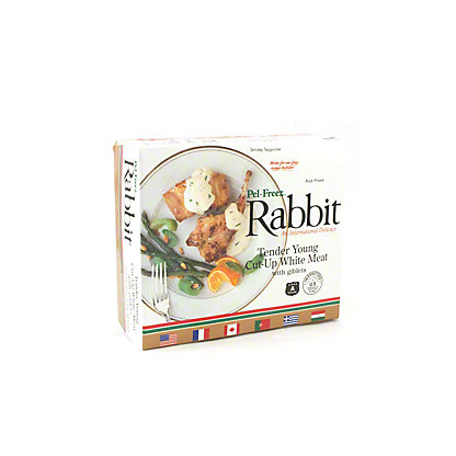 Frozen Tender Young Cut-Up White Meat Rabbit,EACH