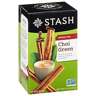 Stash Premium Chai Green Tea Bags,20.00 ea