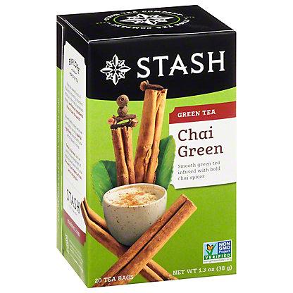 Stash Premium Chai Green Tea Bags,20.00 ea