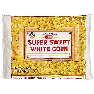 H-E-B Select Ingredients Super Sweet White Corn, 16 oz