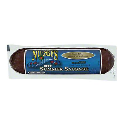Nueske's Beef Summer Sausage,10 OZ