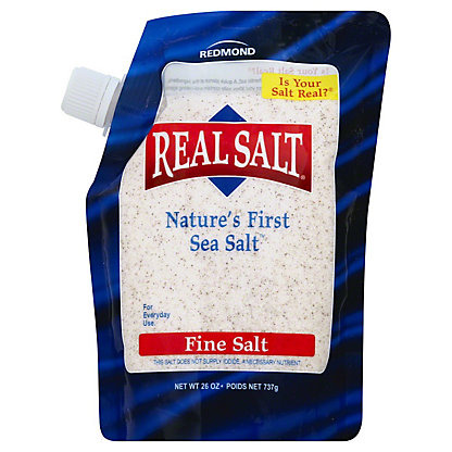 Redmond RealSalt Ancient All Natural Sea Salt, 26 oz
