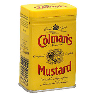 Colman's of Norwich Original English Double Superfine Mustard Powder,2.00 oz