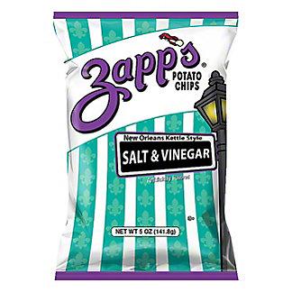 Zapp's Salt and Vinegar Potato Chips,5.5 OZ