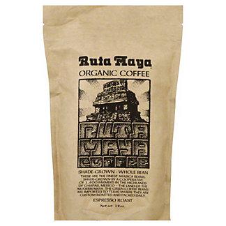 Ruta Maya Ruta Maya Organic Whole Bean Espresso Roast Coffee,12.00 oz