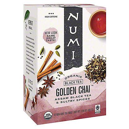 Numi Numi Organic Tea Golden Chai, 18.00 ea