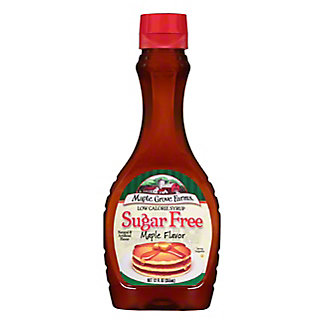 Maple Grove Farms Of Vermont Cozy Cottage Sugar Free Syrup,12 OZ