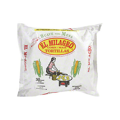 El Milagro Yellow Corn Tortillas, 30 ct