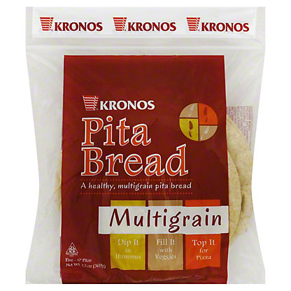Kronos Honey Wheat Pita,12.5 oz.