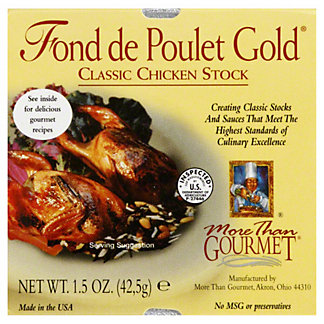 More than Gourmet Fond de Poulet Gold Classic Chicken Stock,1.5 OZ