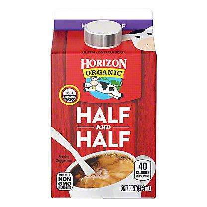 Horizon Organic Half & Half, 16 oz