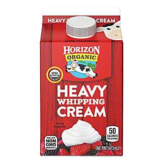 Horizon Organic Heavy Whipping Cream, 1 pt