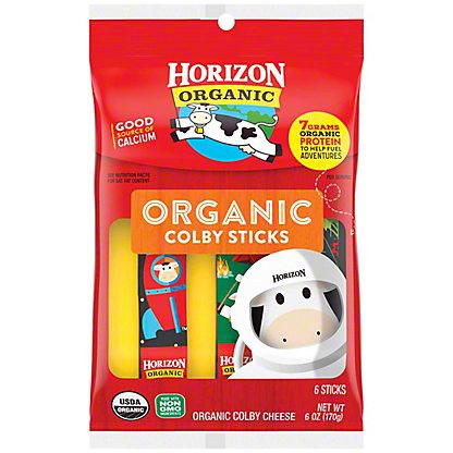 Horizon Organic Cheese Sticks, Organic, Colby Cheese, 8 oz
