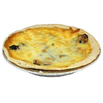 Central Market Spinach & Mushroom Quiche, Small