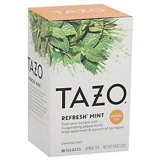 Tazo Tazo Refresh Mint Caffeine Free Filterbags Herbal Tea,20 CT