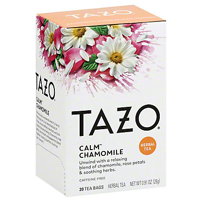 Tazo Tazo Calm Chamomile Herbal Tea Filterbags,20 CT