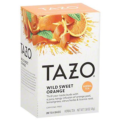 Tazo Wild Sweet Orange Herbal Infusion Tea Filterbags, 20 ct