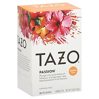 Tazo Tazo Passion Herbal Tea,20 CT