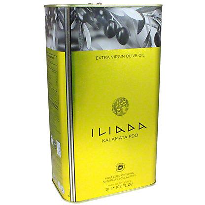 Iliada Extra Virgin Olive Oil, 102 oz