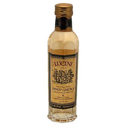 Lucini Pinot Grigio Crisp Dry Taste Italian Wine Vinegar, 8.5 oz