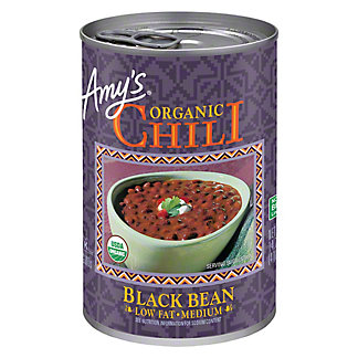 Amy's Organic Low Fat Medium Black Bean Chili, 14.7 oz
