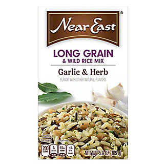 Near East Garlic And Herb Long Grain And Wild Rice Mix, 5.9 oz