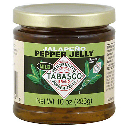 Tabasco Jalapeno Mild Pepper Jelly,10 OZ
