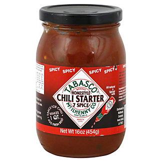 Tabasco Spicy Homestyle 7 Spice Chili Starter, 16 oz