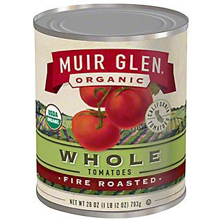 Muir Glen Organic Fire Roasted Whole Tomatoes,28 OZ