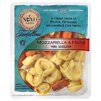 Nuovo Pasta Tri-Color Mozzarella & Herb Tortelloni,9 OZ