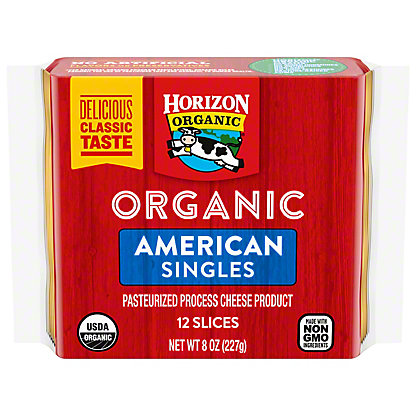 Horizon Organic Organic American Singles, 8 oz