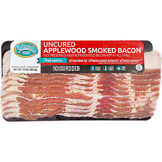 Pederson's Uncured Apple Smoked Bacon,10 OZ