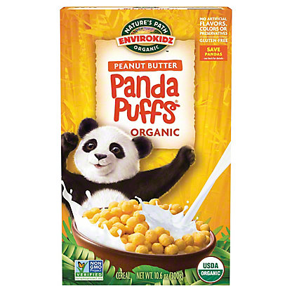 Nature's Path Organic Envirokidz Panda Puff Cereal, 10.6 oz