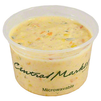 Central Market Poblano Corn Chowder, ea