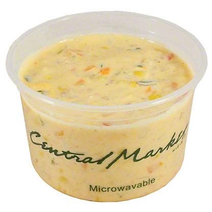 Central Market Poblano Corn Chowder, ea