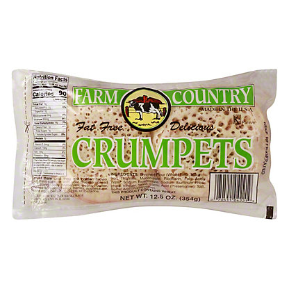 Farm Country Fat Free Crumpets,12.5 oz