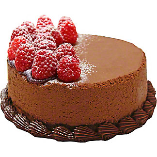 "Central Market 6"" Chocolate Raspberry Truffle Cake, 38 oz"