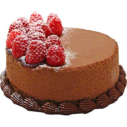 "Central Market 6"" Chocolate Raspberry Truffle Cake, 38 oz"