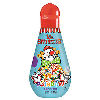 Mr. Sprinkles Rainbow Sprinkles,6 OZ