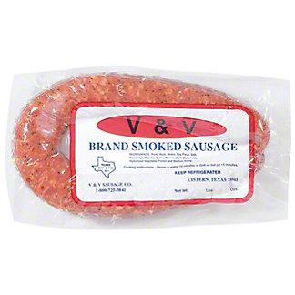 V&V Pork & Beef Smoked Sausage